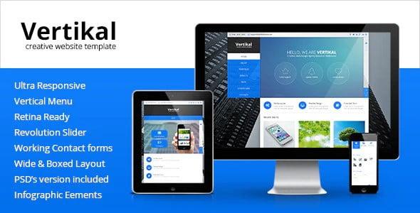 Vertikal - 36+ Amazing Electricians WordPress Themes [year]