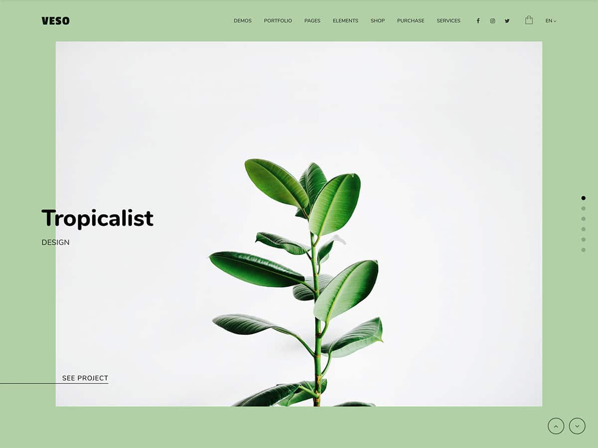 Veso - 31+ Amazing WordPress Themes For Creative [year]