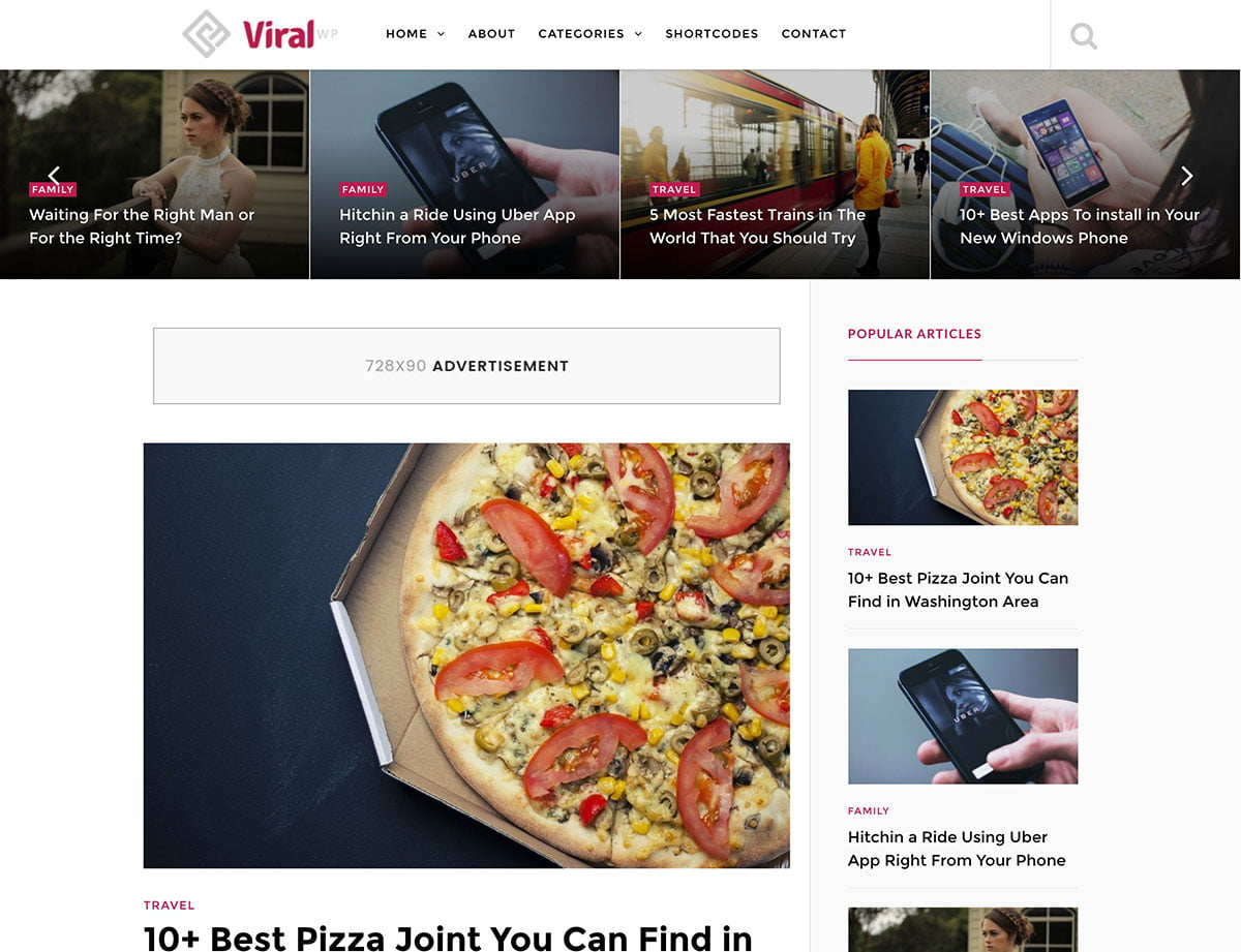 ViralWP - 30+ Top Quality WordPress Themes For Viral [year]