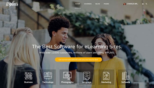 WPLMS - 36+ Awesome WordPress Themes e-Learning [year]