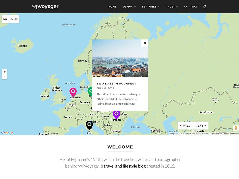 WPVoyager-1 - 36+ Amazing Travel, Agencies, Hotels WordPress Themes [year]
