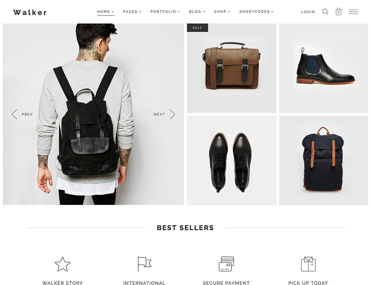 Walker - 41+ Top WordPress Themes For Woocommerce [year]
