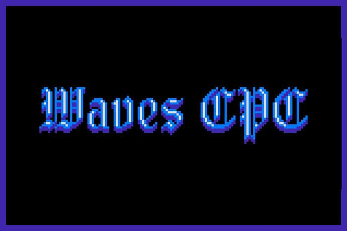 Waves-Cpc - 31+ Amazing Game Title Fonts For Developer [year]