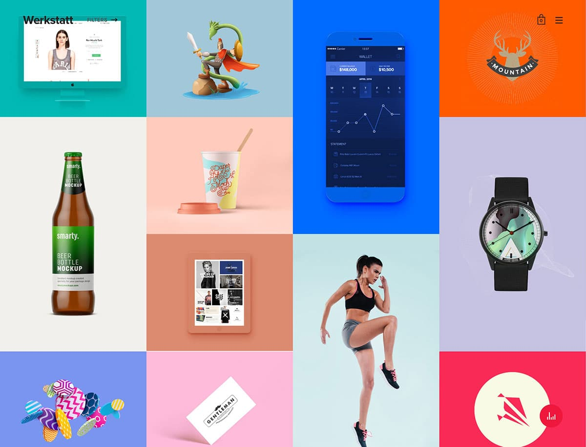 Werkstatt-4 - 31+ Awesome WordPress Themes For Artists [year]