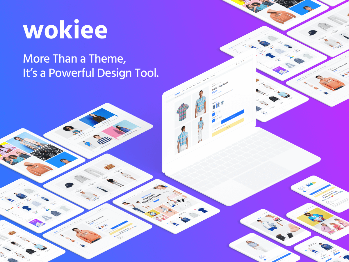 Wokiee - 41+ Top WordPress Themes For Woocommerce [year]