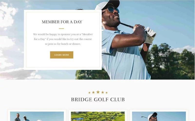 WordPress-Golf-Themes