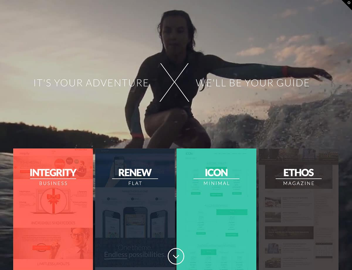 X - 35+ Nice WordPress Themes For Multipurpose [year]
