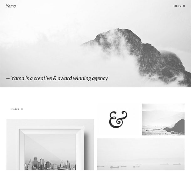 Yama - 40+ Awesome WordPress Themes For Creative Agency [year]