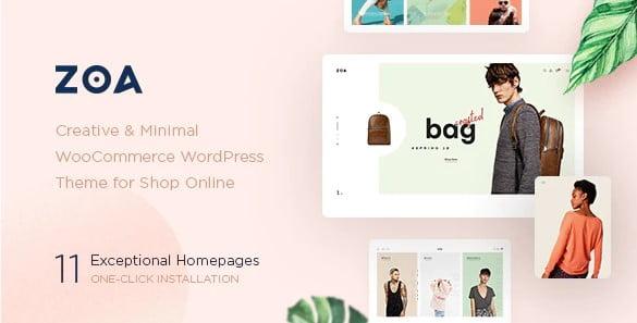 Zoa - 36+ Nice Bookstore WordPress Themes [year]