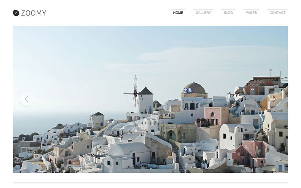 Zoomy - 36+ Top Quality WordPress Themes For Photography [year]