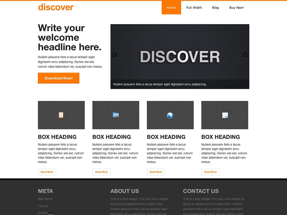 discover - 51+ Awesome Free WordPress Themes For Ecommerce [year]