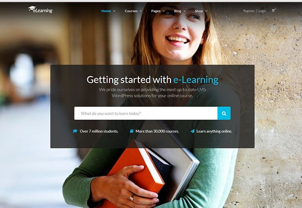 eLearning-WP - 36+ Awesome WordPress Themes e-Learning [year]