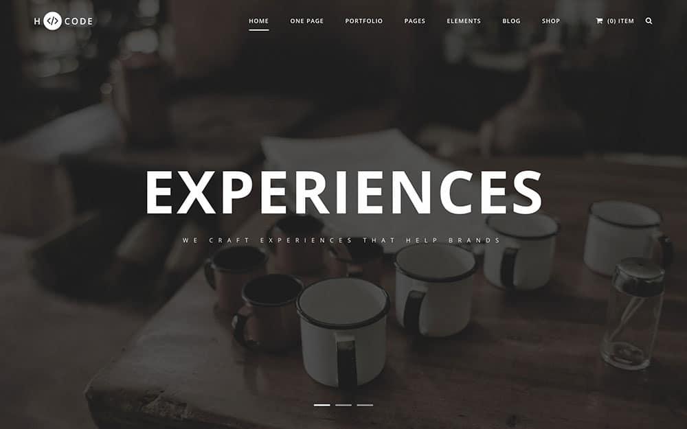 h-code - 35+ Nice WordPress Themes For Multipurpose [year]