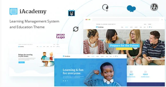 iAcademy - 36+ Awesome WordPress Themes e-Learning [year]