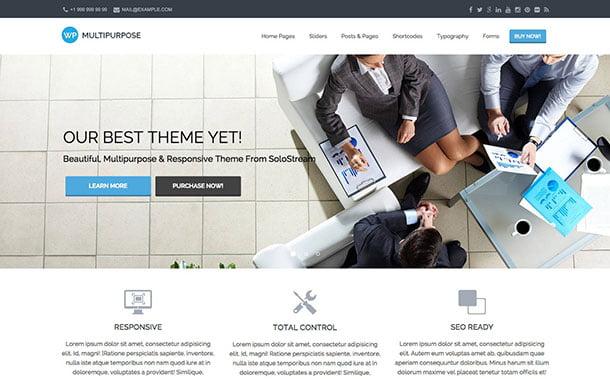 wp-multipurpose-theme - 35+ Nice WordPress Themes For Multipurpose [year]