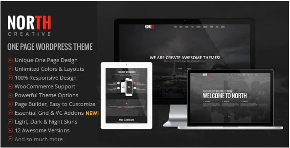 y - 46+ Best Free WordPress One Page Themes [year]