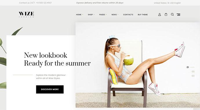 222-1 - 34+ Impressive WordPress Minimal eCommerce Themes [year]