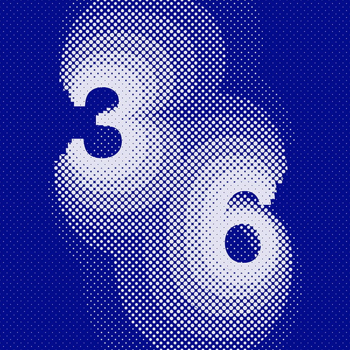 36-Days-Of-Type-Numbers - 40+ Nice Halftone Showcase Designs Template [year]
