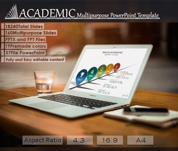Academic - 36+ Awesome Abstract PowerPoint Templates Download [year]