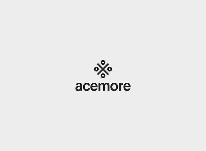 Acemore - 38+ Lovely Isometric Logo Design Sample [year]