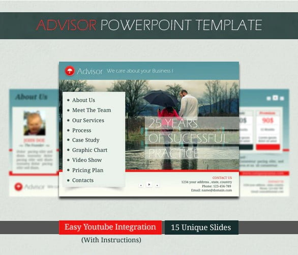 Advisor-PowerPoint-Template - 36+ Amazing Finance PowerPoint Templates Download [year]