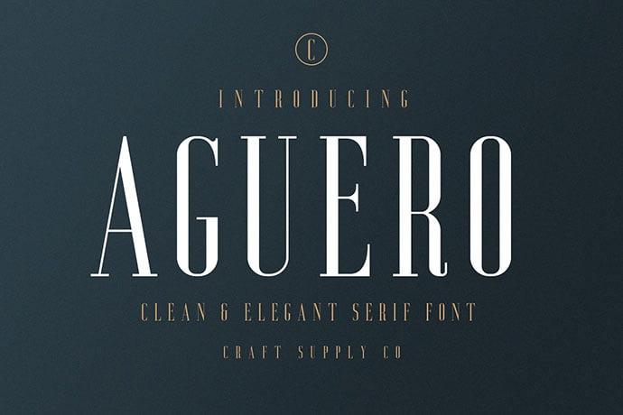 Aguero-Serif