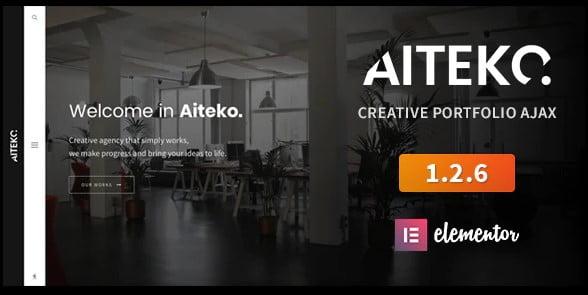 Aiteko - 35+ Lovely WordPress Elementor Portfolio Themes [year]