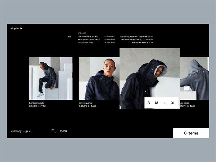 Alk-Phenix - 63+ Incredible Free Black & White Web UI Designs [year]
