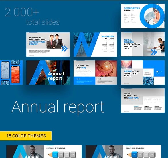Annual-Report - 36+ Amazing Finance PowerPoint Templates Download [year]