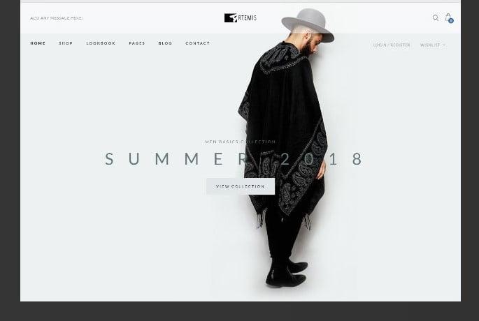 Artemis - 51+ Awesome WordPress Lookbook Ecommerce Themes [year]
