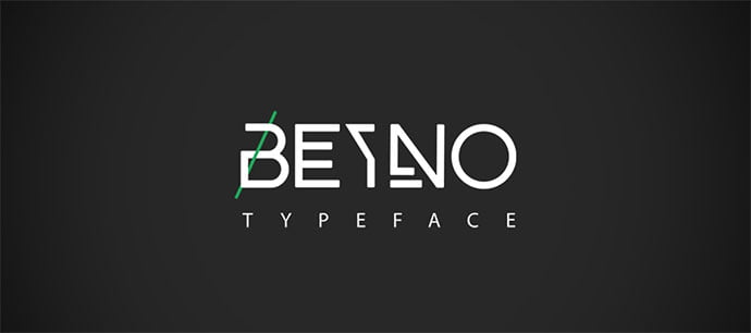 BEYNO - 38+ Free Pretty Headline Fonts For Designer [year]
