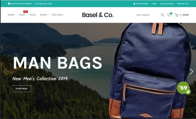 Basel-1 - 35+ Friendly Responsive Dropshipping Shopify Theme [year]