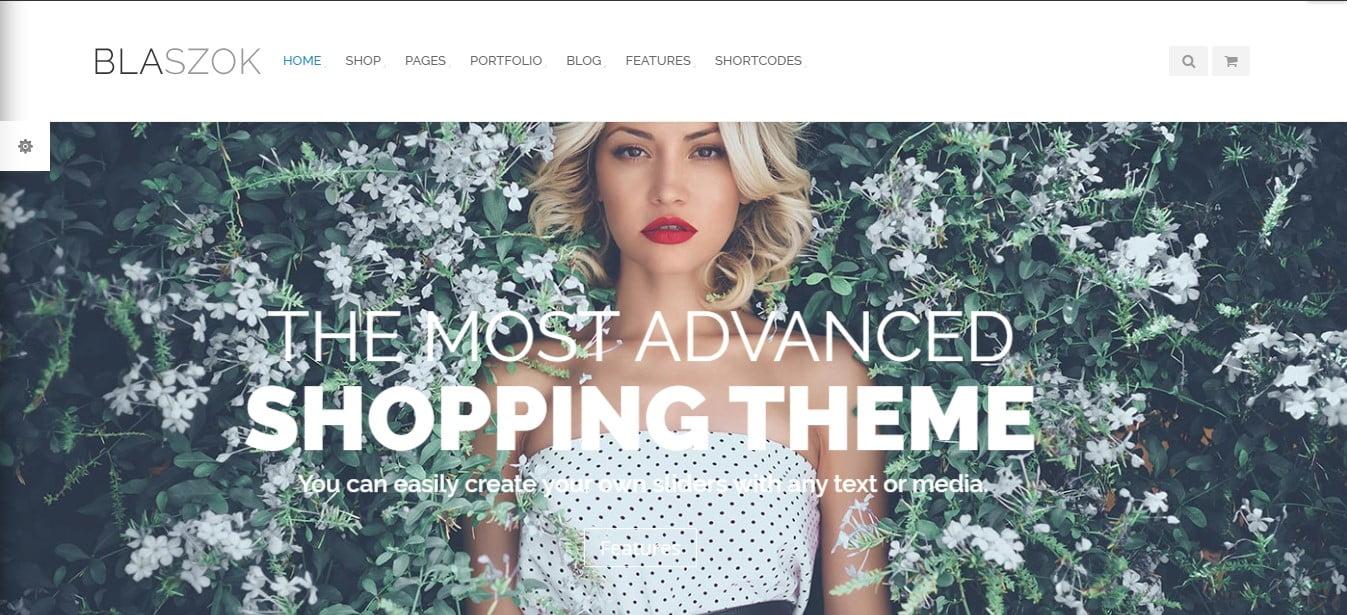 Blaszok - 51+ Awesome WordPress Lookbook Ecommerce Themes [year]