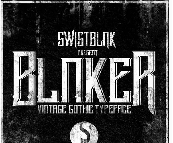 Blnker - 38+ Free Pretty Headline Fonts For Designer [year]