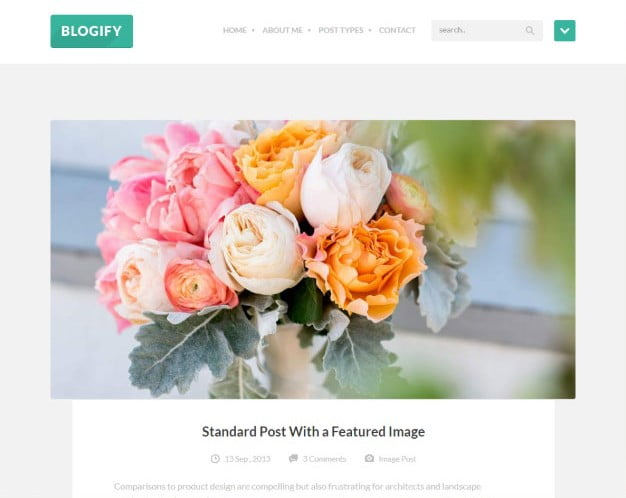Blogify - 37+ Nice WordPress Photography Blog Themes [year]