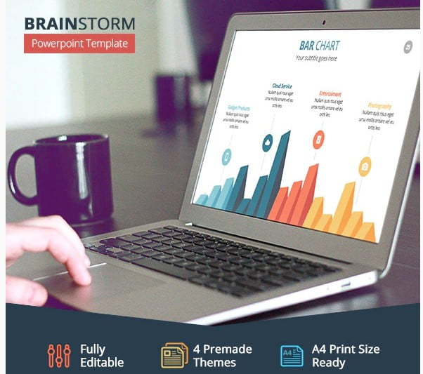 Brainstorm - 36+ Awesome Abstract PowerPoint Templates Download [year]