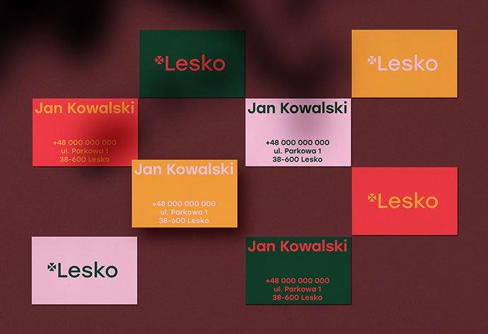 Branding-Lesko - 36+ Impressive Business Card Designs With Visual Impact [year]