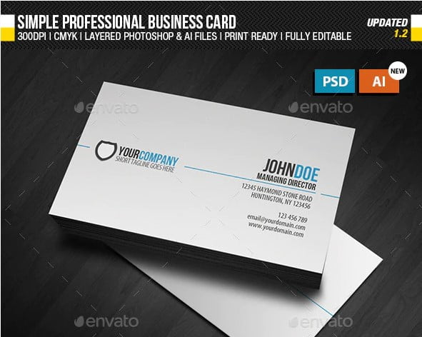 Business-Card-Designs - 36+ Impressive Business Card Designs With Visual Impact [year]