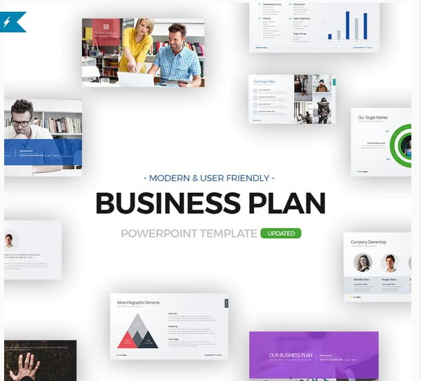 Business-Plan - 36+ Awesome Business PowerPoint Templates Download [year]