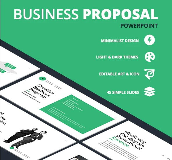Business-Proposal-1 - 36+ Amazing Finance PowerPoint Templates Download [year]