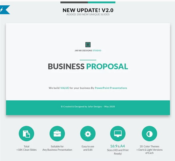 Business-Proposal - 36+ Awesome Business PowerPoint Templates Download [year]