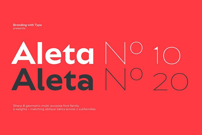 Bw-Aleta-Font-Family - 36+ Best Free Number Fonts For Graphic Designer [year]