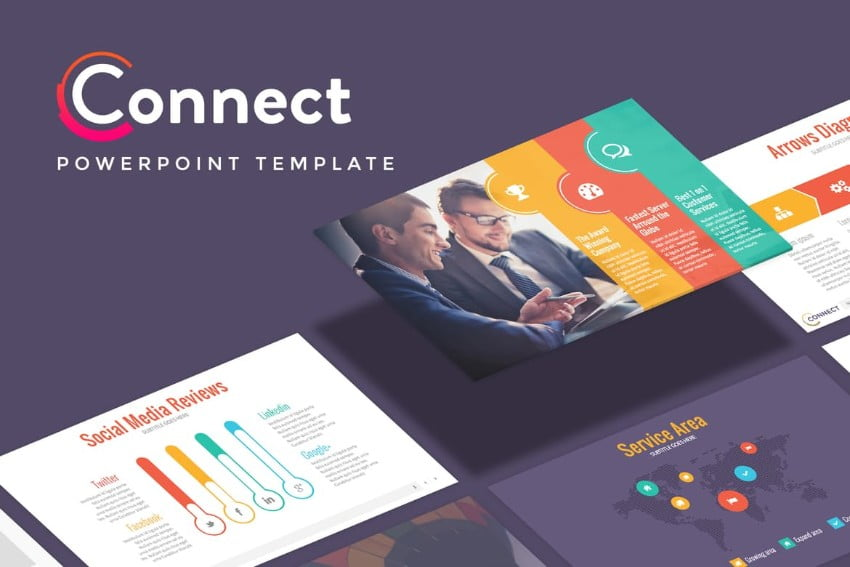 CONNECT - 36+ Powerful PowerPoint Marketing Templates [year]