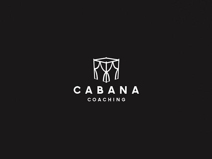 Cabana-Coaching-Concept - 38+ Lovely Isometric Logo Design Sample [year]