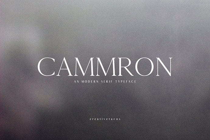 Cammron-Serif-Font-Family