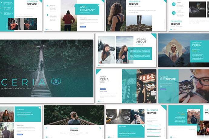Ceria-Powerpoint - 36+ Nice PowerPoint Portfolio Showcasing Templates [year]