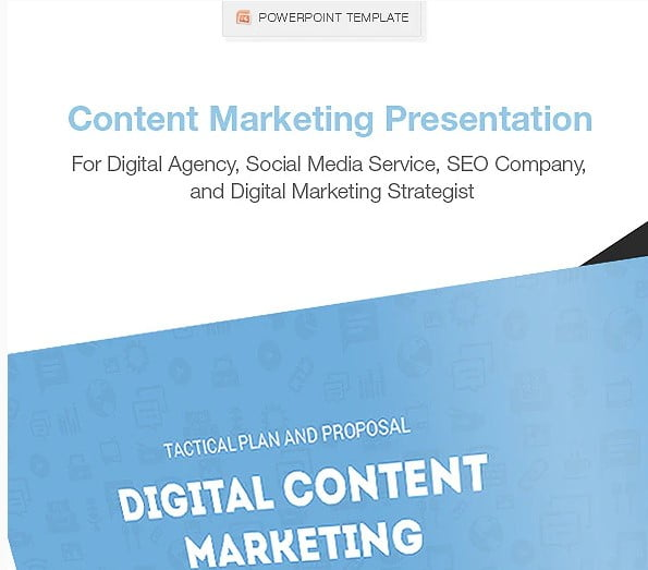 Clean-Content-Marketing-Presentation - 36+ Powerful PowerPoint Marketing Templates [year]