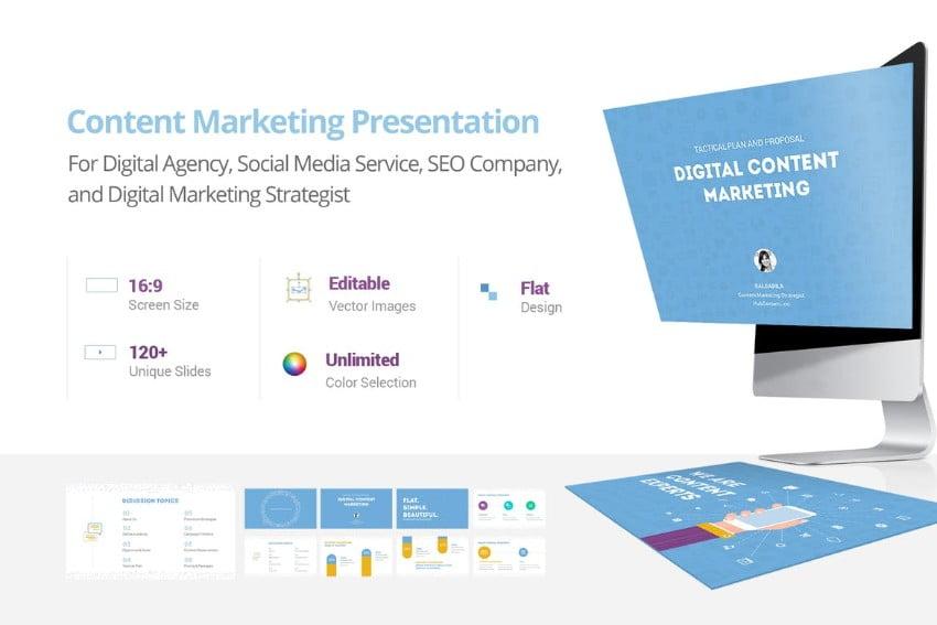 Content-Marketing-Presentation - 36+ Powerful PowerPoint Marketing Templates [year]
