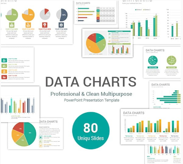 Data-Charts - 36+ Amazing Finance PowerPoint Templates Download [year]
