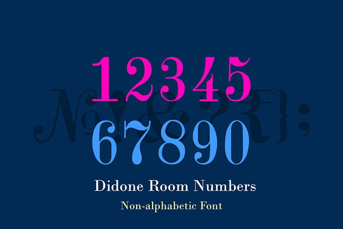 Didone-Room-Numbers-Display-Font-Family - 36+ Best Free Number Fonts For Graphic Designer [year]